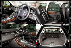 Range Rover Interior Photos